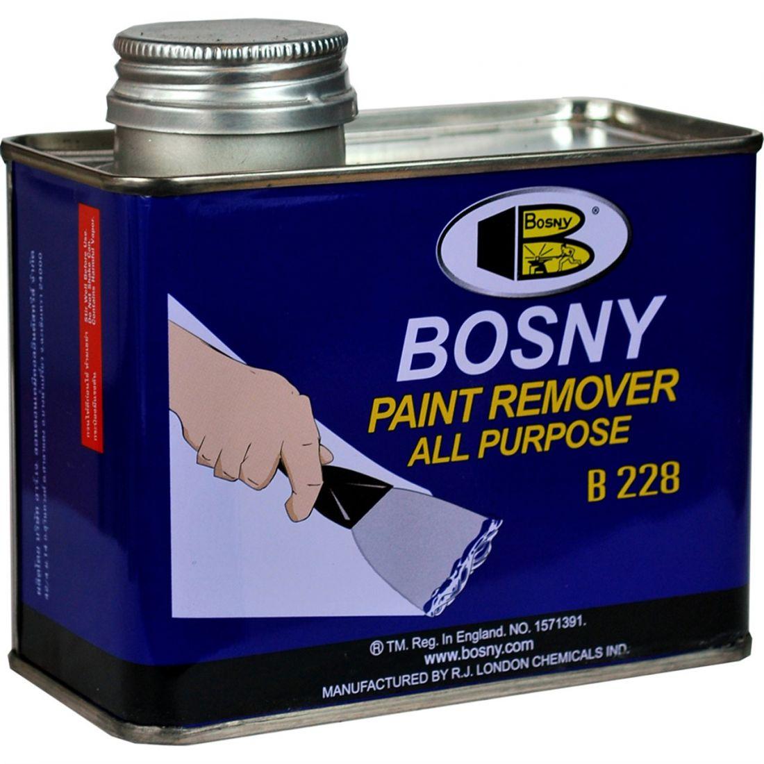 Смывка красок BOSNY гелевая, железна банка, вес 400 гр.