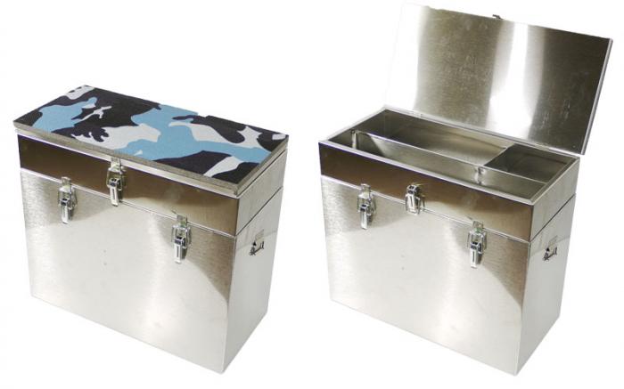 Ящик зимний №3 400*190*360 2-х ярусный, нержавейка (РОСТ)