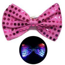 Светящаяся карнавальная бабочка, Розовый