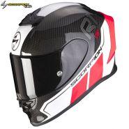 Шлем Scorpion EXO-R1 Air Carbon Air Corpus II, Черно-красный