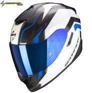 Шлем Scorpion EXO-1400 Air Fortuna, Бело-синий