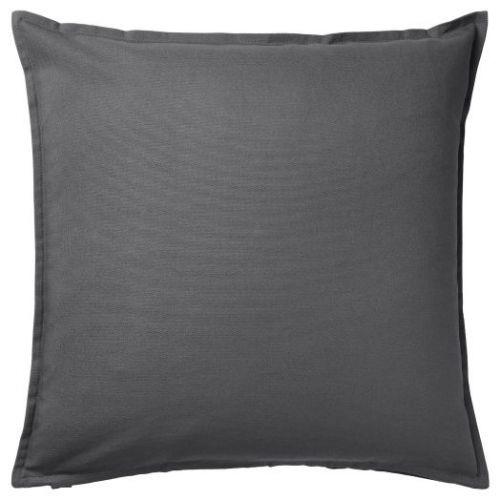 GURLI ГУРЛИ, Чехол на подушку, темно-серый, 50x50 см - 404.746.95