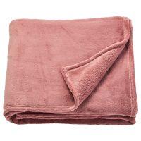 TRATTVIVA ТРАТТВИВА, Покрывало, темно-розовый, 150x250 см - 204.421.82