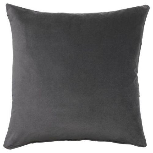 SANELA САНЕЛА, Чехол на подушку, темно-серый, 50x50 см - 404.717.34