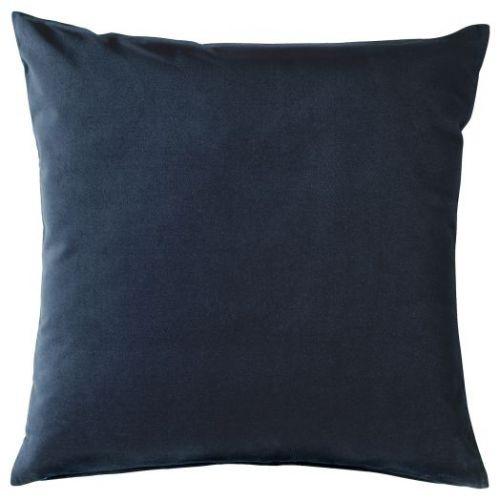 SANELA САНЕЛА, Чехол на подушку, темно-синий, 50x50 см - 403.651.11
