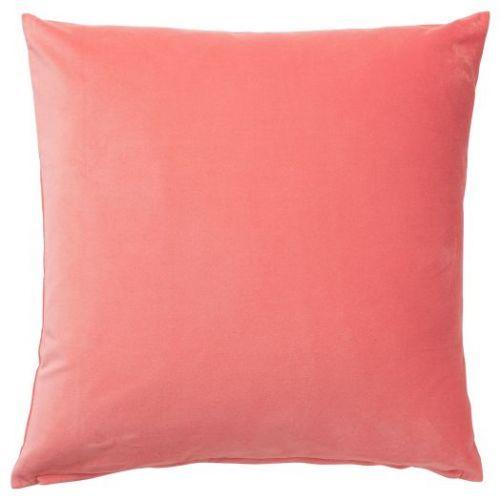 SANELA САНЕЛА, Чехол на подушку, светлый коричнево-красный, 50x50 см - 704.473.04