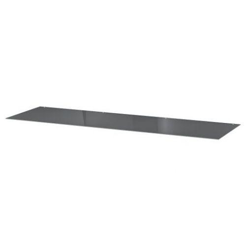 MALM МАЛЬМ, Стеклянная столешница, прозрачный серый, 160x48 см - 904.300.05