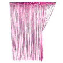 Новогодний дождик Штора, 2 м х 1 м, Розовый