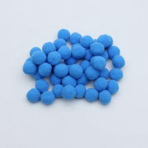 Помпоны, размер 25 мм, цвет 35 ярко-синий (1уп = 50шт)