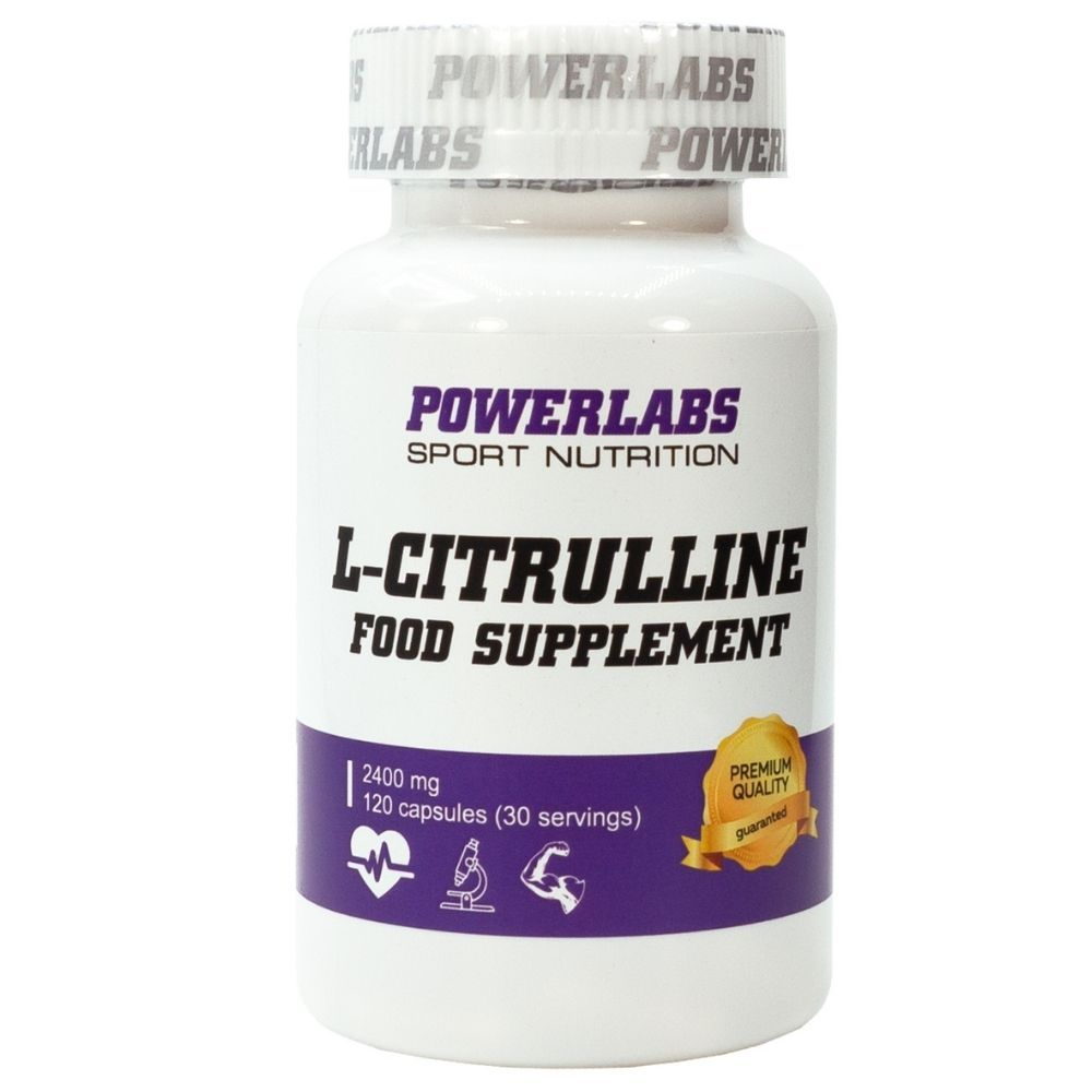 POWERLABS CITRULINE 120 CAPS