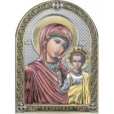 Казанская икона БМ цветная эмаль