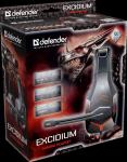 Гарнитура игровая Defender Excidium красный