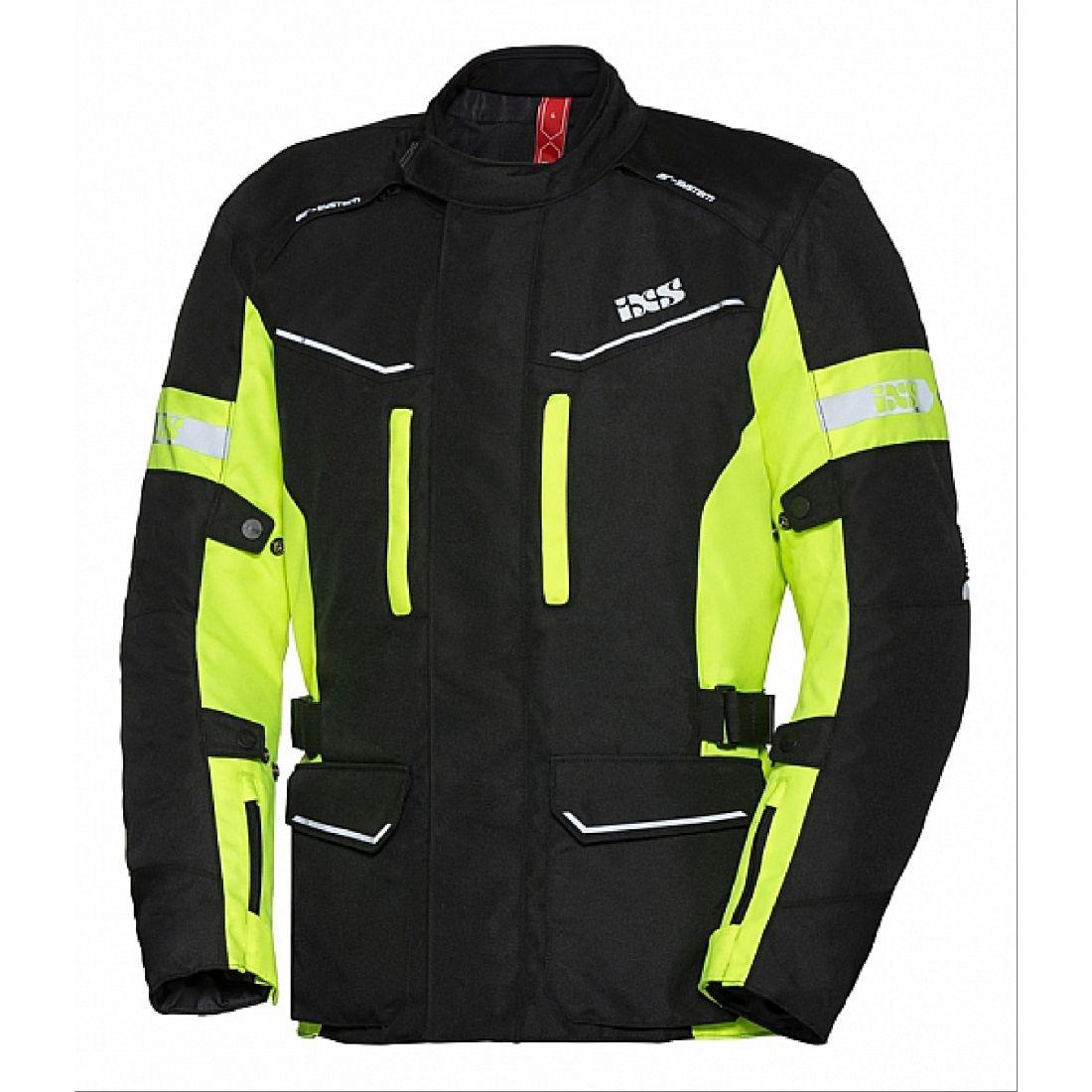 Куртка туристическая Evans-ST черно-желтая