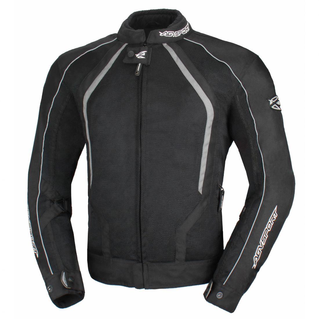 Текстильная куртка Solare II чёрная