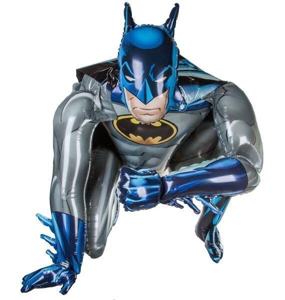Бэтмен ходячий шар фольгированный