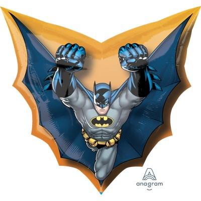 Бэтмен фигурный шар фольгированный с гелием
