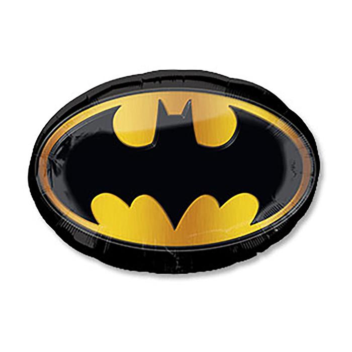 Бэтмен эмблема шар фольгированный с гелием