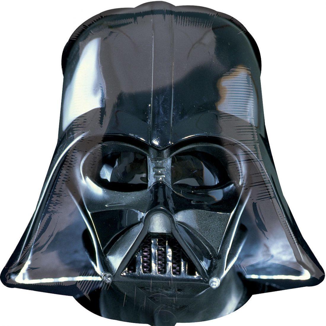 Дарт Вейдер шлем шар фольгированный с гелием