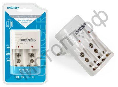 Заряд. уст-во Smartbuy 505 автомат (SBHC-505) (4АА/4ААА/2*9V) Ni -Mh/Ni-Cd