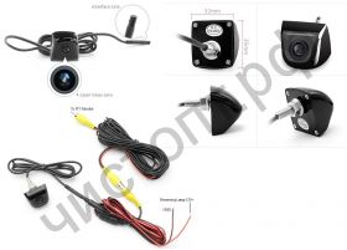 Камера TS-CAV04 (420ТВЛ, 12В)
