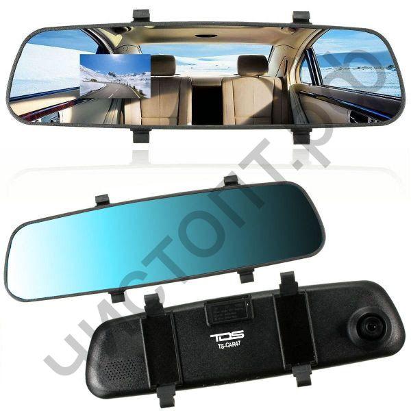 Видеорегистр. - зеркало заднего вида TDS TS-CAR47