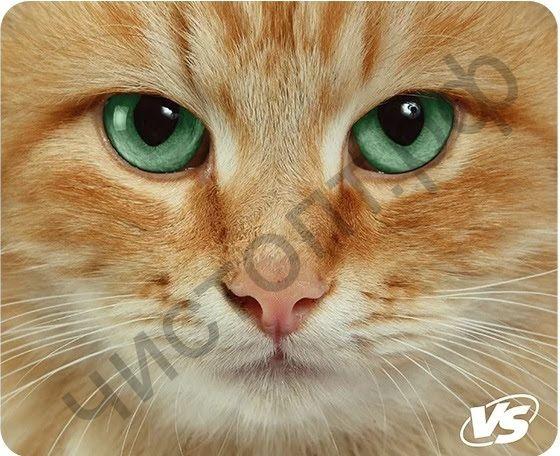 """Коврик для мыши VS """"Cat"""", Рис.3 (180*220*2 мм), ткань+резиновое основание"""