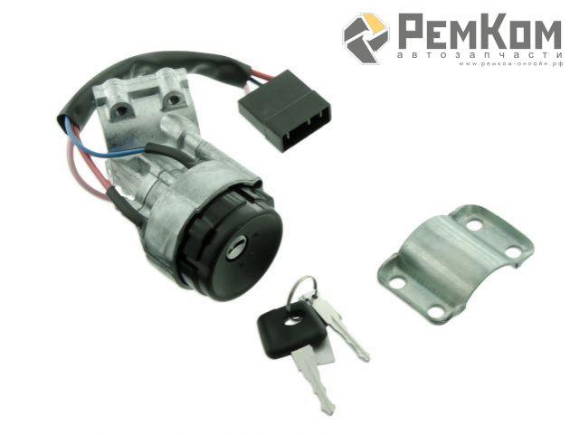 RK04143 * 2170-3704010 * Выключатель зажигания для а/м 2170-2172 компл. без личинок (иммобилайзер не активен)