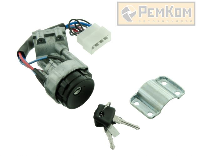RK04137 * 2109-3704010-30 * Выключатель зажигания для а/м 2108 -21099,2113-2115 нового образца с защитой стартера