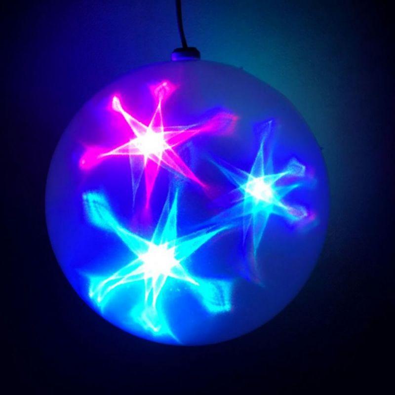 Большой Эксклюзивный Шар С LED Светодиодами, Диаметр 30 См