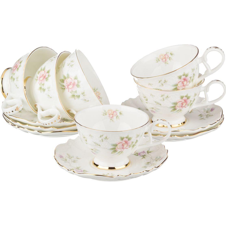 """Чайный набор на 6 персон """"Екатерина"""""""