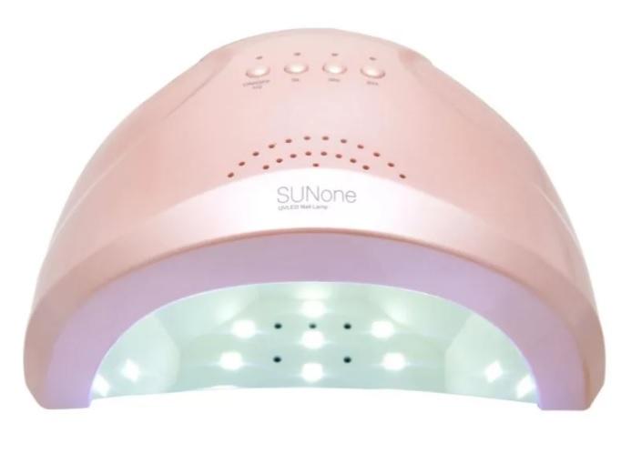 Лампа для сушки ногтей Sun ONE 48 Вт Розовая( Гибридная )