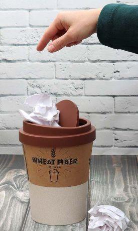 Мусорница Кофе (21 см)