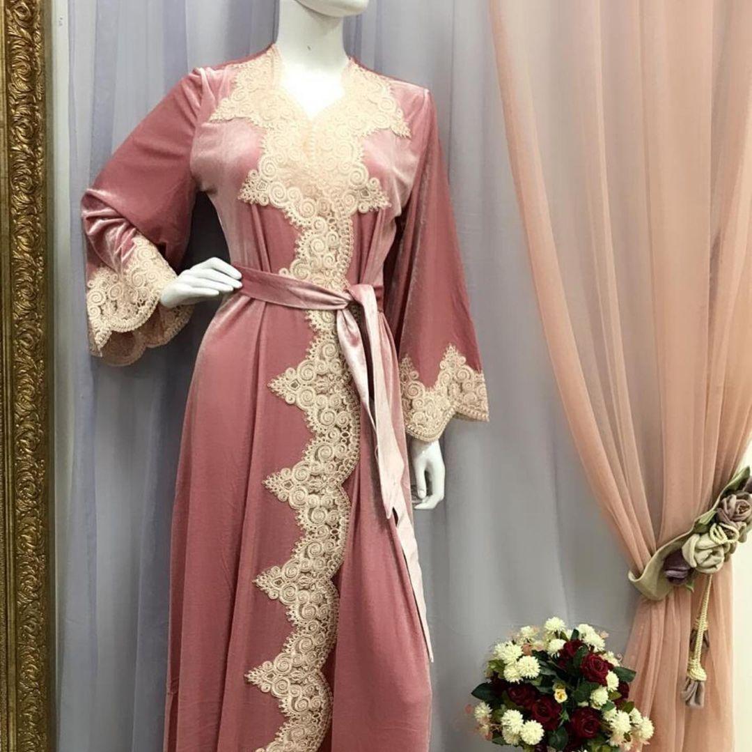 Роскошный велюровый халат от Итальянского бренда