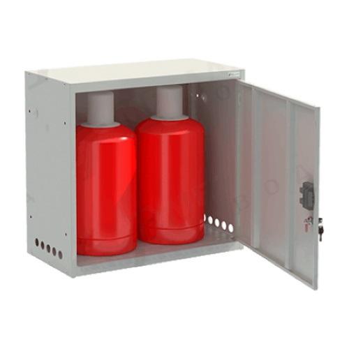 Шкаф для газовых баллонов «ШГР 27-2-4» (2х27л)