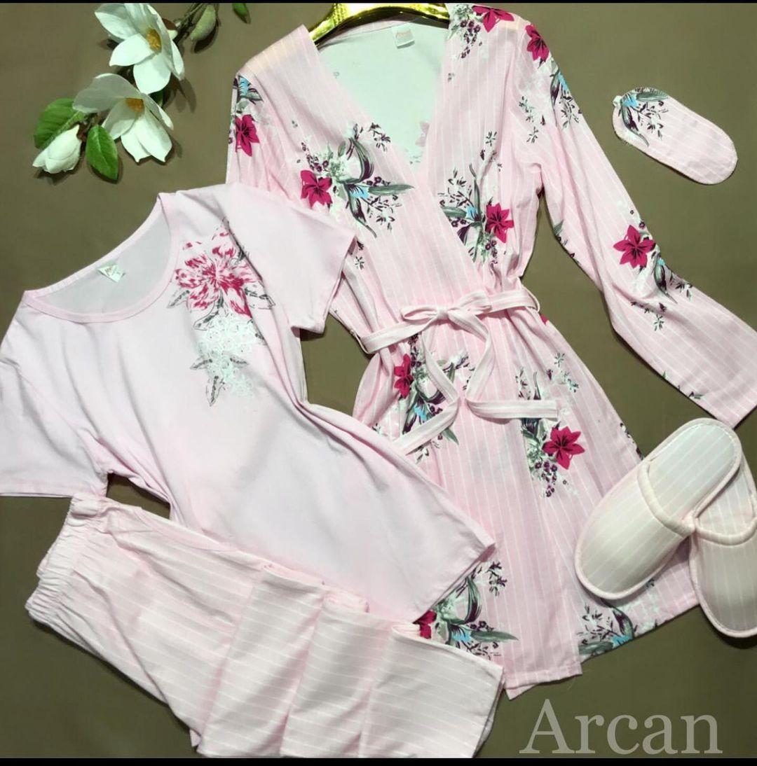Хлопковая пижама состоящая из 5 предметов