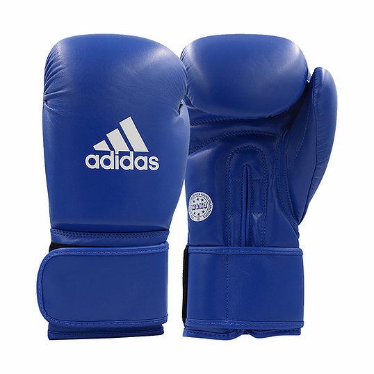 Перчатки для кикбоксинга ADIDAS WAKO Kickboxing Competition Glove синие, 10 унц.,  артикул adiWAKOG1