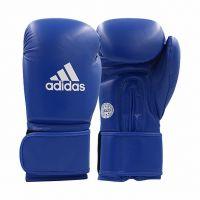 Перчатки для кикбоксинга ADIDAS WAKO Kickboxing Training Glove синие, 10 унц.,  артикул adiWAKOG2