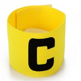 Капитанская футбольная повязка Желтая