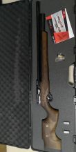 Винтовка пневматическая карабин (carbine) PCP Kuzey K 60 - Кузей К 60 калибр 6.35 мм, ореховое ложе