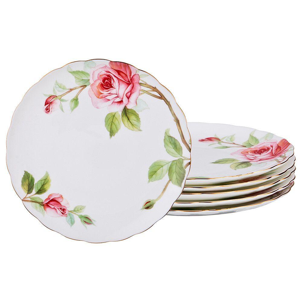 """Набор тарелок """"Амелия"""" 6 штук"""
