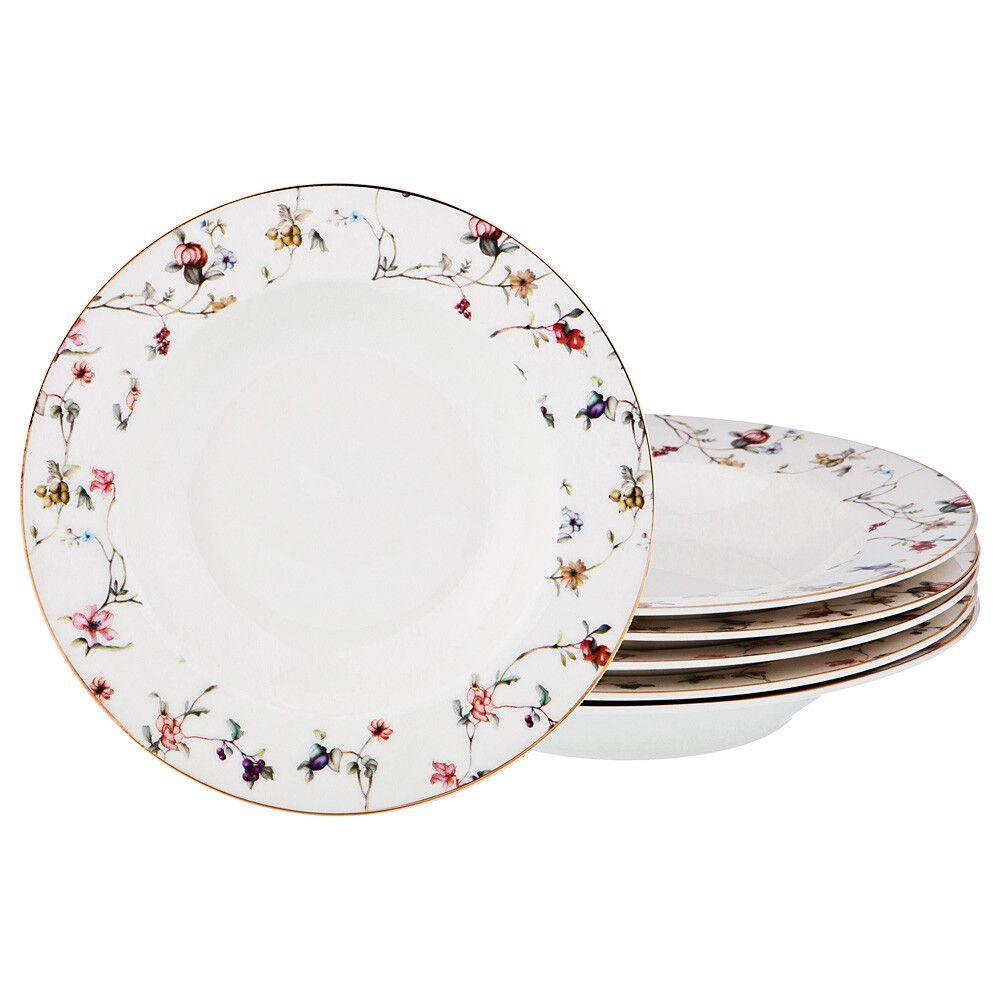 """Набор суповых тарелок """"Вайлд"""" 6 штук"""