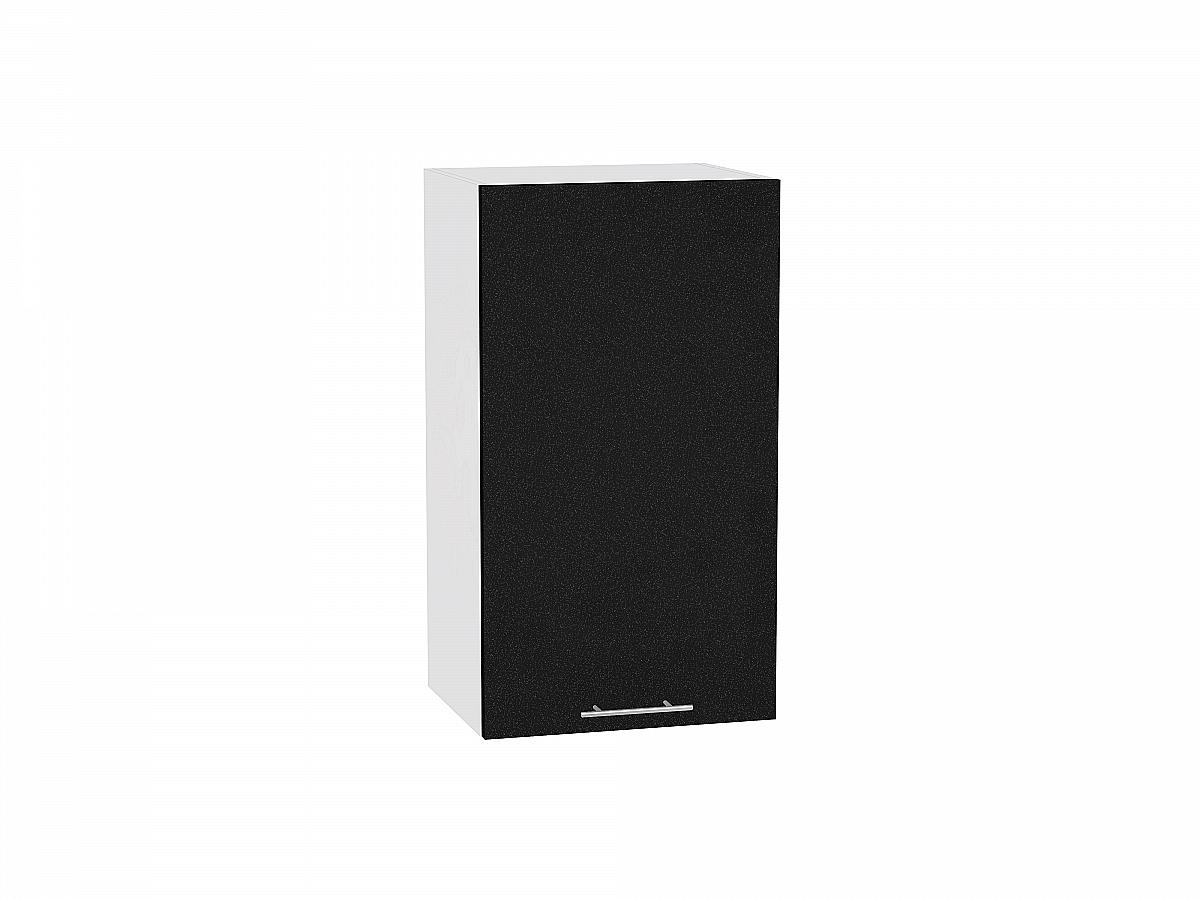 Шкаф верхний Валерия В409 (чёрный металлик)