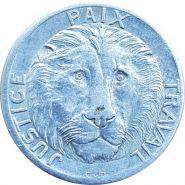 Конго - 10 франков 1965 Лев