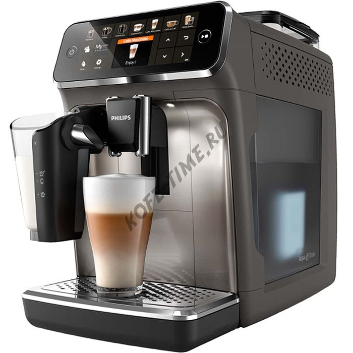 Кофемашина Philips EP5444 5400 Series LatteGo