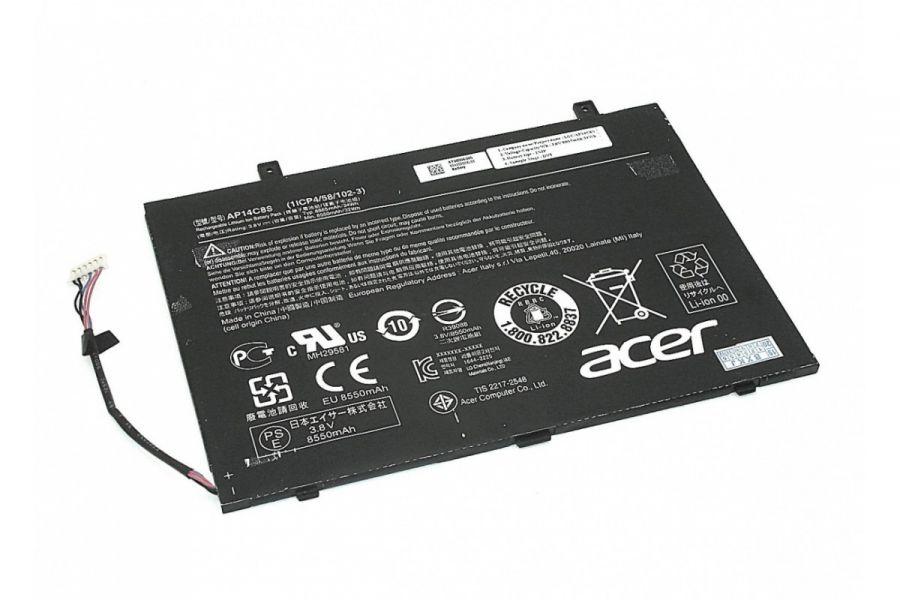 Аккумулятор Acer Aspire Switch 11 SW5-111 (AP14C8S (1ICP4/58/102-3)) Оригинал
