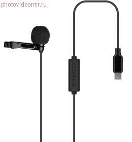 Петличный микрофон Comica V01SP (MI) Lighting 2.5 м