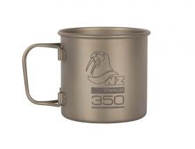 Титановая кружка NZ Ti Cup 350 ml TM-350FH