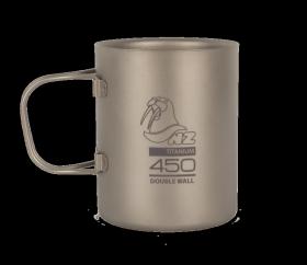 Титановая термокружка NZ Ti Double Wall Mug 450 ml TMDW450FH