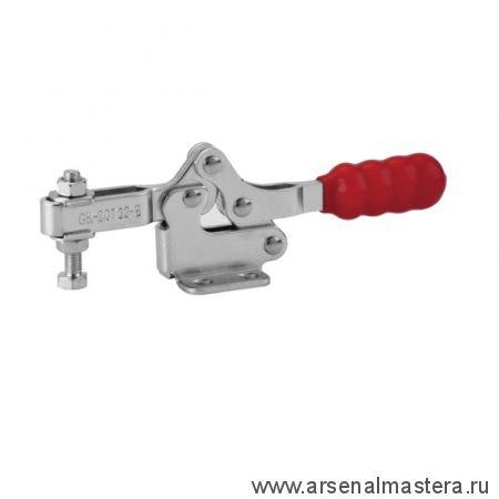 Зажим механический с горизонтальной ручкой усилие 75 кг GOOD HAND GH-20752-B