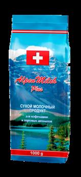 Сухой молочный продукт AlpenMilch Plus 1000 гр - молоко для вендинга
